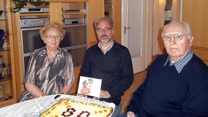 Konrad Scharrer - 80. Geburtstag